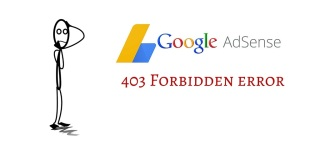 403 Forbidden Error of Google Adsense