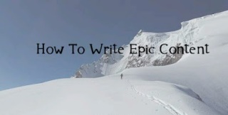 write epic post