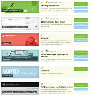 Find WordPress Plugins used