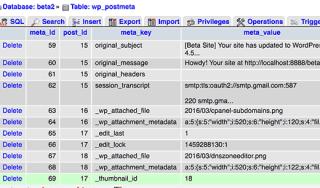 Thumbnail ID meta key stored in postmeta table