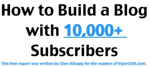 How to Build a Blog with 10,000+ Subscribers