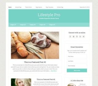 Studiopress Lifestyle Theme