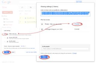 javascript css file sharing