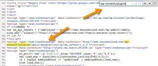 check wordpress blog source code