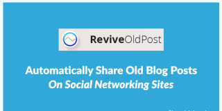 Automatically Share Old Blog Posts