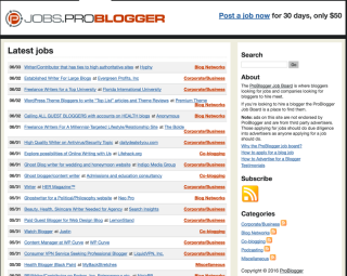 Get paid for writing jobs online