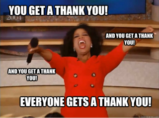 Express Gratitude meme
