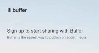 Buffer lets you schedule social media updates