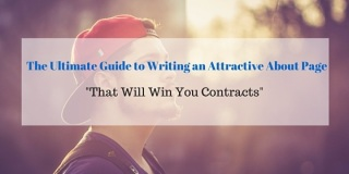 The Ultimate Guide to Writing an Attractive About Page