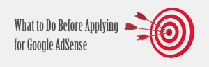 apply for google adsense