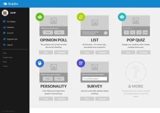 Interactive content type