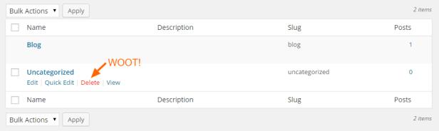 Delete-Uncategorized-WordPress-Category