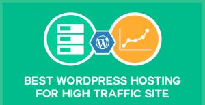 WordPress Hosting for High Traffic Webistes